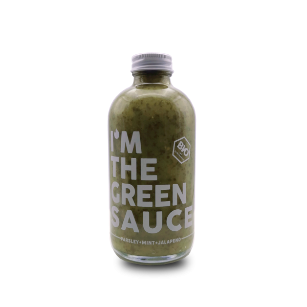 THE GREEN SAUCE - PARSELY MINT JALAPENO