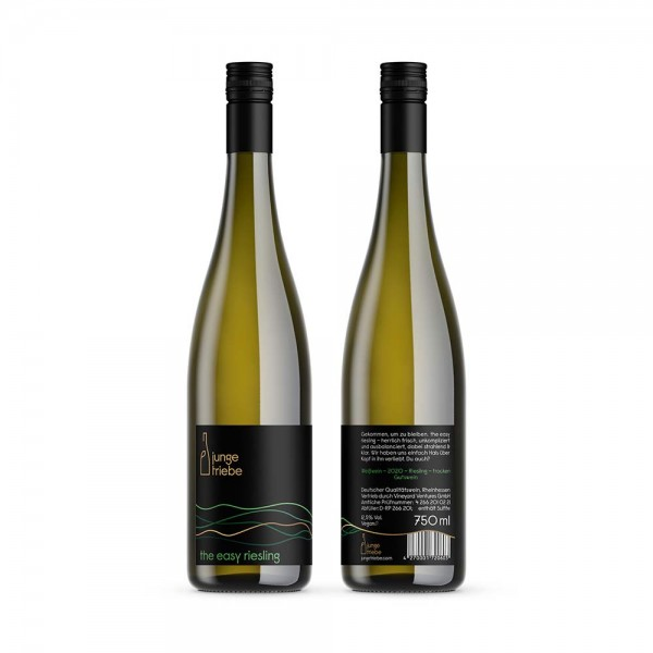 the easy riesling - Weißwein